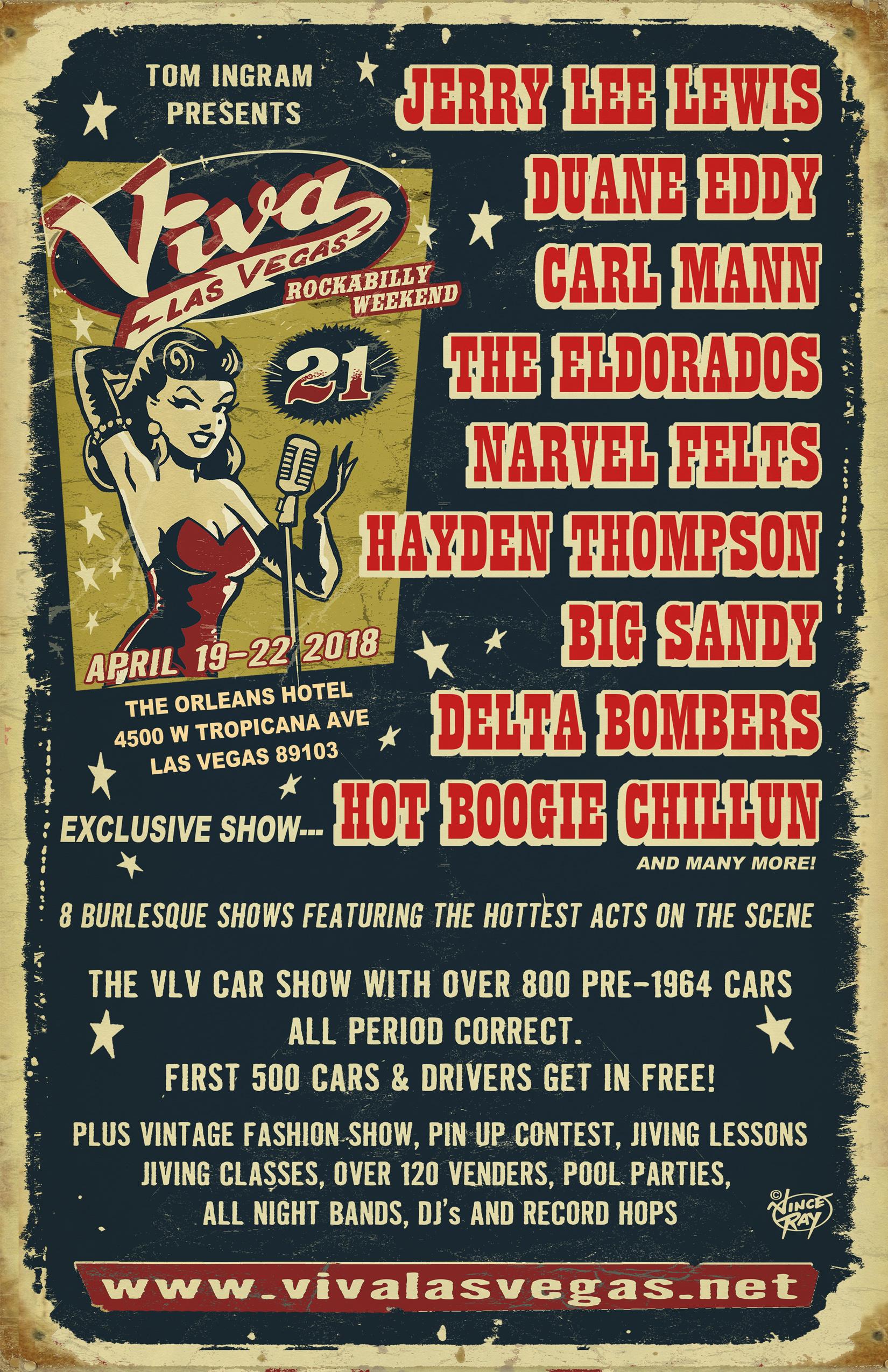 Viva Las Vegas VivaMagAdvert - Rockabilly car show las vegas 2018