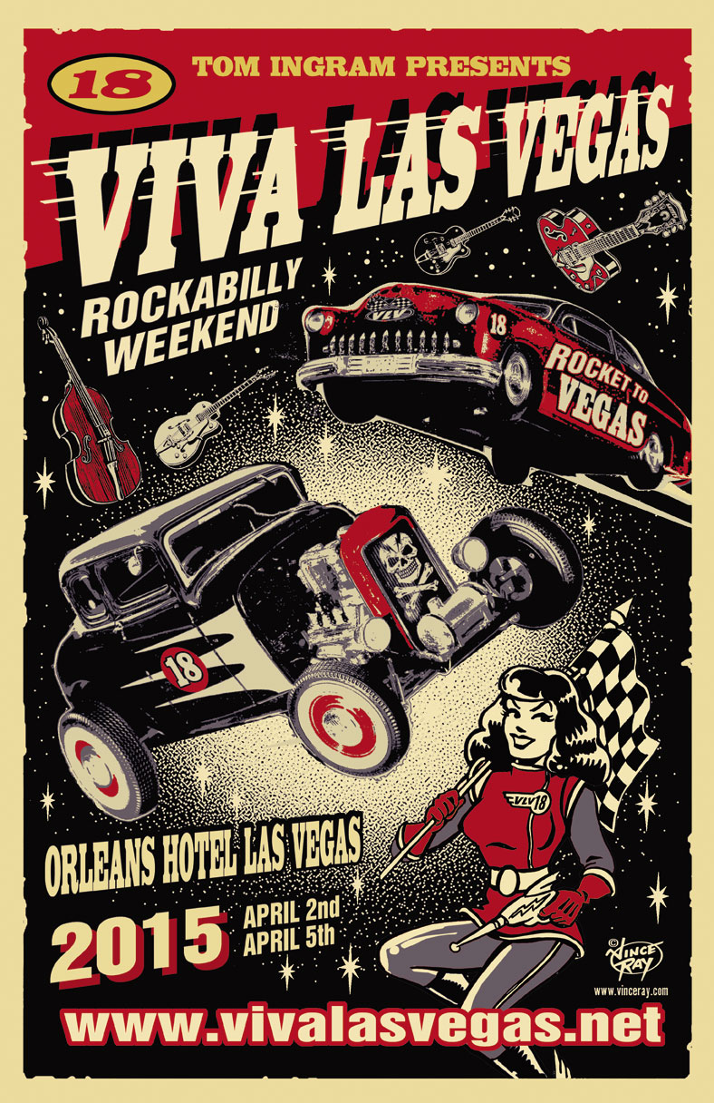 Viva Las Vegas Download Flyers - Viva las vegas car show 2018